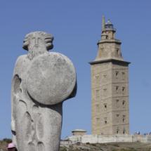 El gigante Gerión y la Torre de Hércules