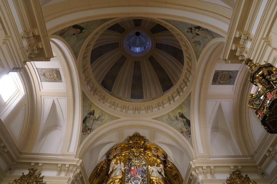 Cúpula de la iglesia del convento de Trinitarias de San Ildefonso de Madrid
