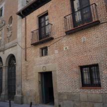 Fachada del convento de las Trinitarias de San Ildefonso, en Madrid