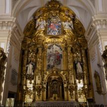 Retablo mayor del convento de Trinitarias