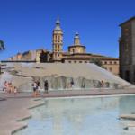 Así es la moderna Plaza del Pilar de Zaragoza