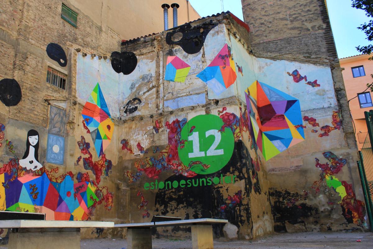 Realizamos una ruta de los graffiti por Zaragoza
