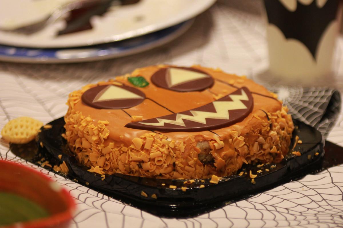 Una tarta terrorífica es el colofón perfecto para el menú de Halloween
