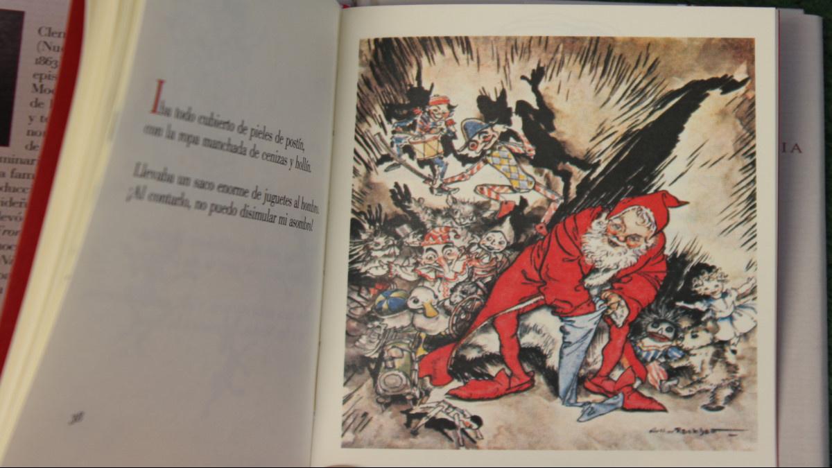 Éste es el primer libro que se escribió sobre Papá Noel