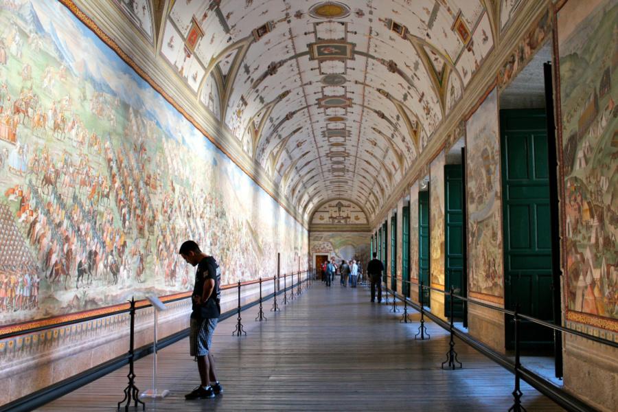 Sala de Batallas del Monasterio del Escorial