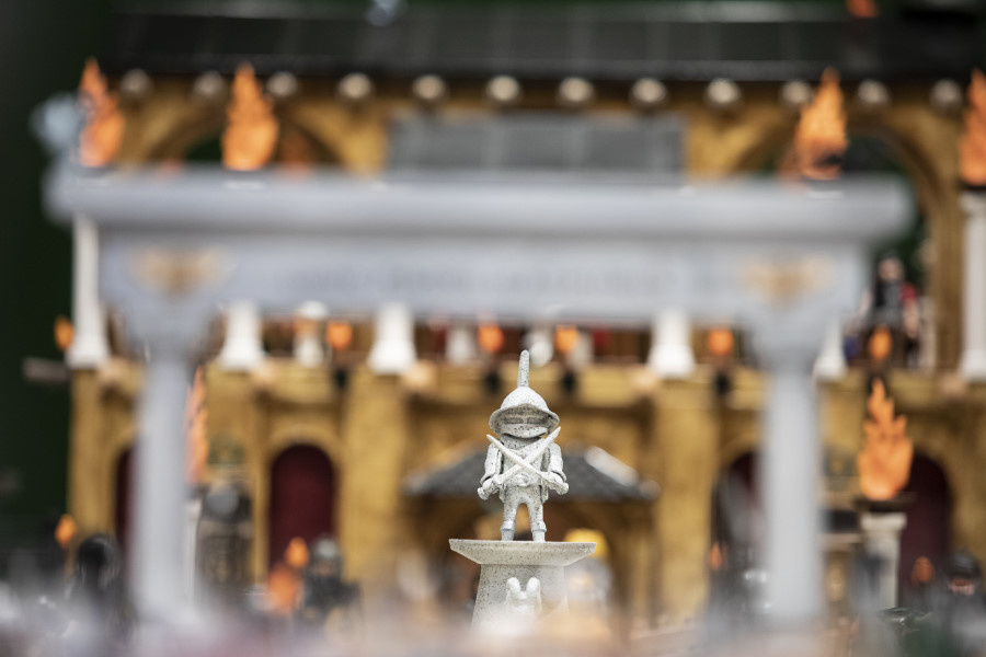 Exposición de Clicks de Playmobil en Madrid ©Jesús Varillas