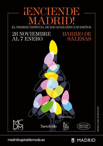 Cartel del Festival 'Enciende Madrid'