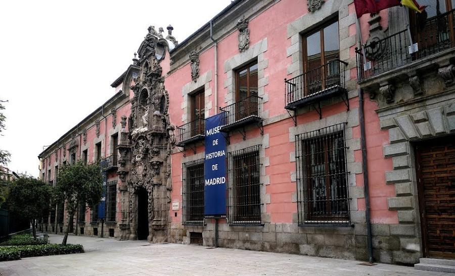 Fachada del Museo de Historia de Madrid