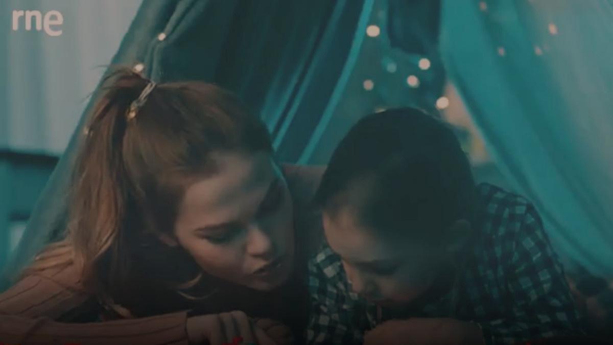 Imagen de un vídeo promocional de un espacio infantil en Radio Nacional de España