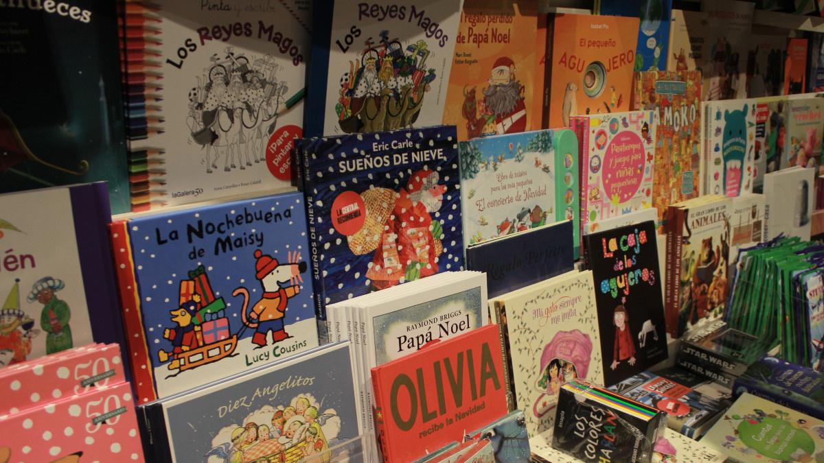 Libros infantiles de temática navideña