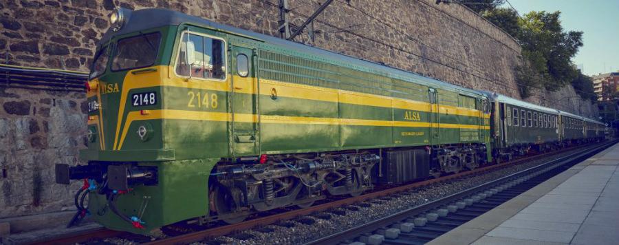 El Tren de los Reyes Magos es un tren clásico del siglo pasado.