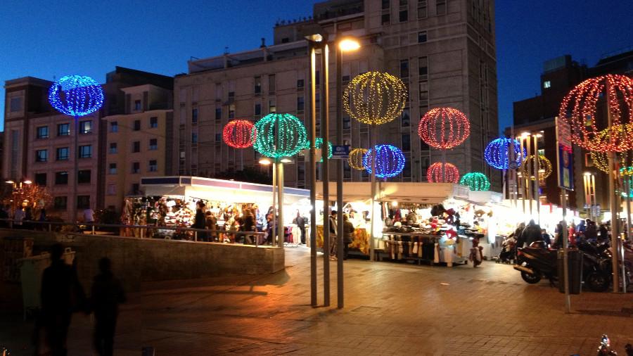 Madrid se llena de mercadillos navideños en estas fechas