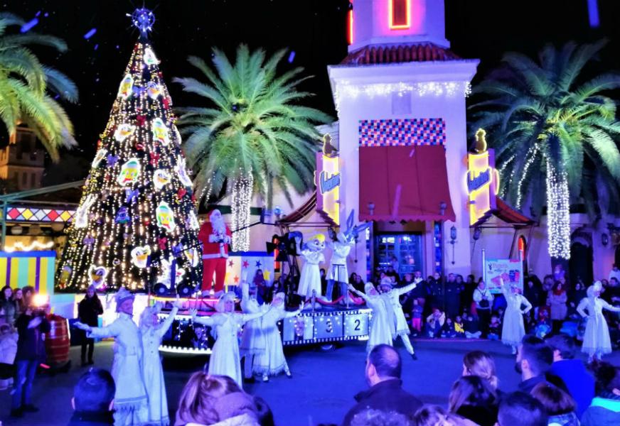 Navidad en Parque Warner, 2019