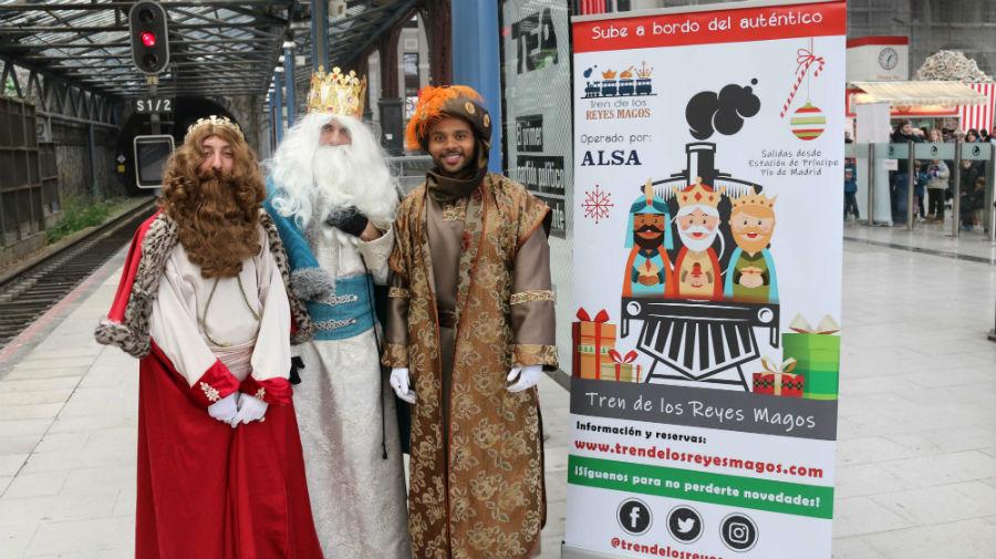 Tren de los Reyes Magos de Madrid
