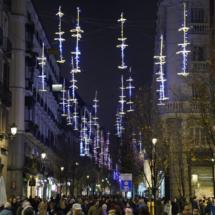 Luces de Navidad en Madrid, 2019