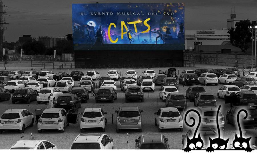 Autocine Madrid proyecta 'Cats'