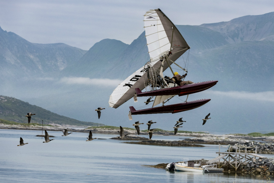 Escena de la película 'Volando Juntos'