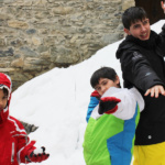 ¡A la nieve con los niños!