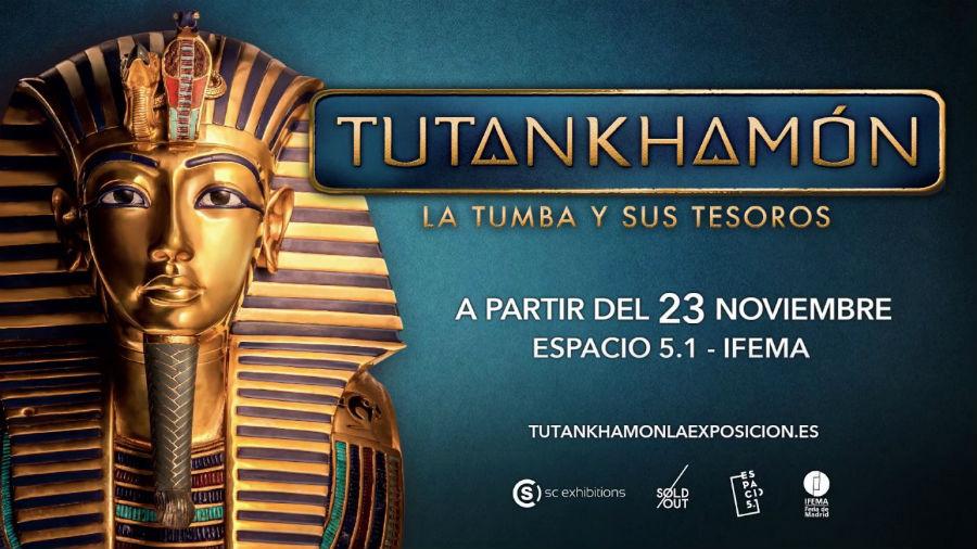 Exposición sobre Tutankamon