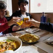 Participamos en el festival de gastronomía por el Año Nuevo Chino