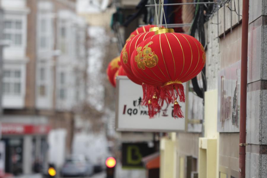 Comercios de Usera en el Año Nuevo Chino