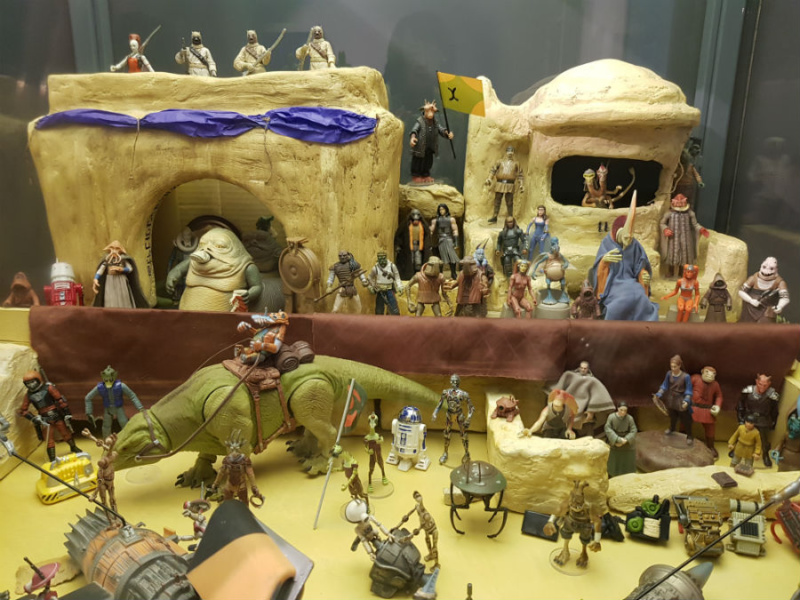 Exposición de Star Wars en Madrid, 2020