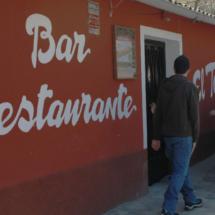 Fachada del restaurante El Torcas del Valle del Jerte