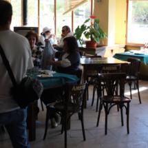 Interior del restaurante El Torcas del Valle del Jerte
