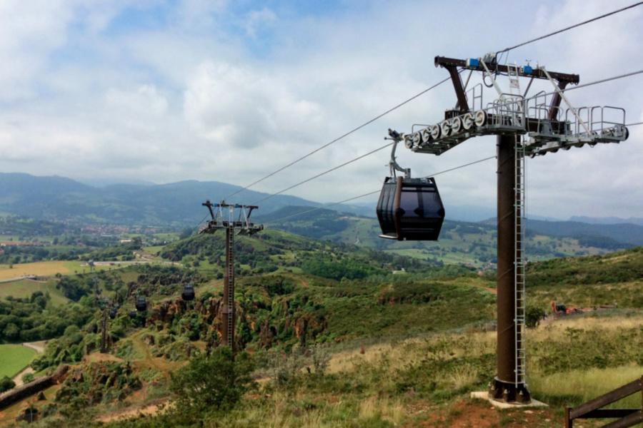 Teleférico del Parque de Cabárceno
