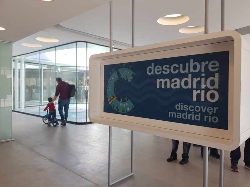 Centro de Interpretación de Madrid Río