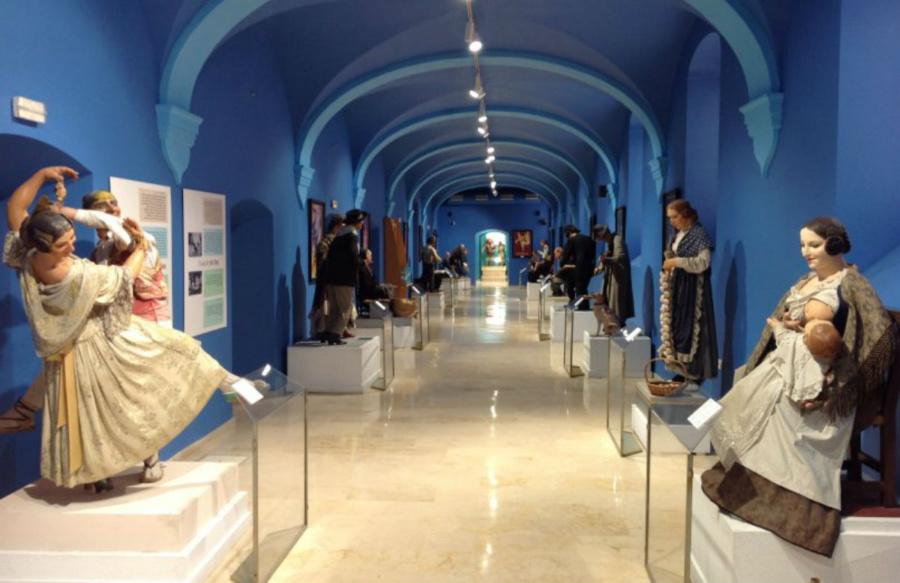 Sala del Museo Fallero de Valencia