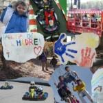 Cómo contar una historia en un mural o collage familiar