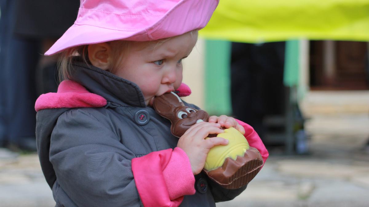 El conejito de Pascua de chocolate es una de las figuras más tradicionales.