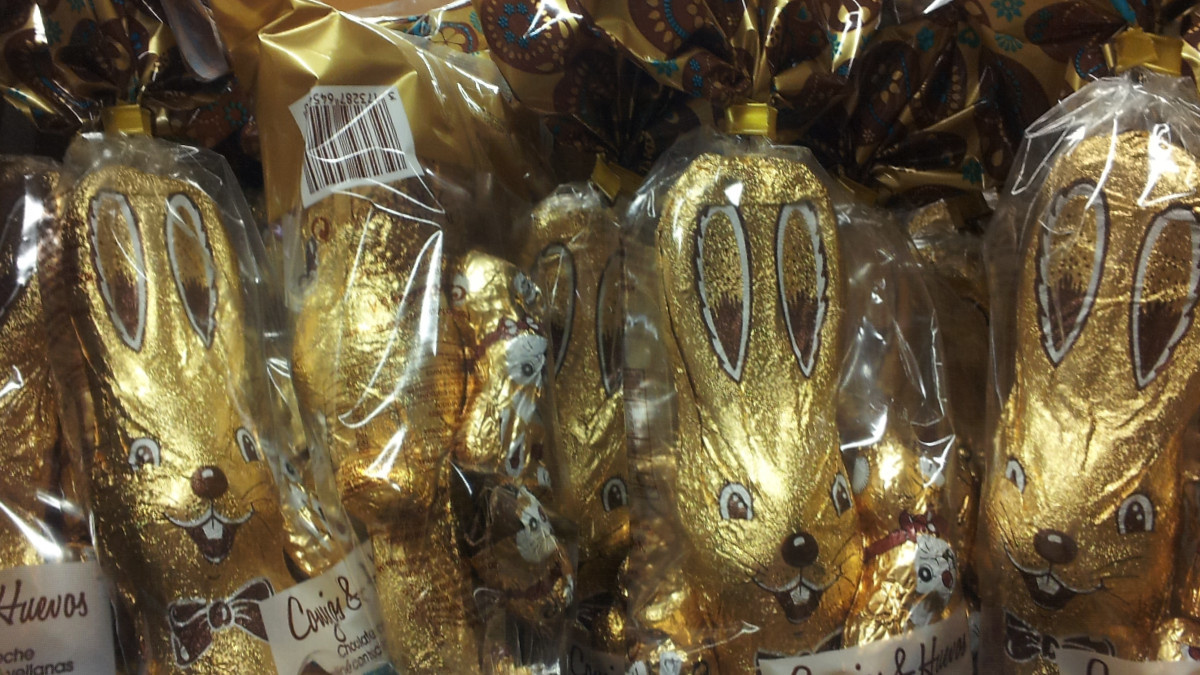 Conejos de Pascua de Chocolate