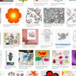 Pintar dibujos de Internet
