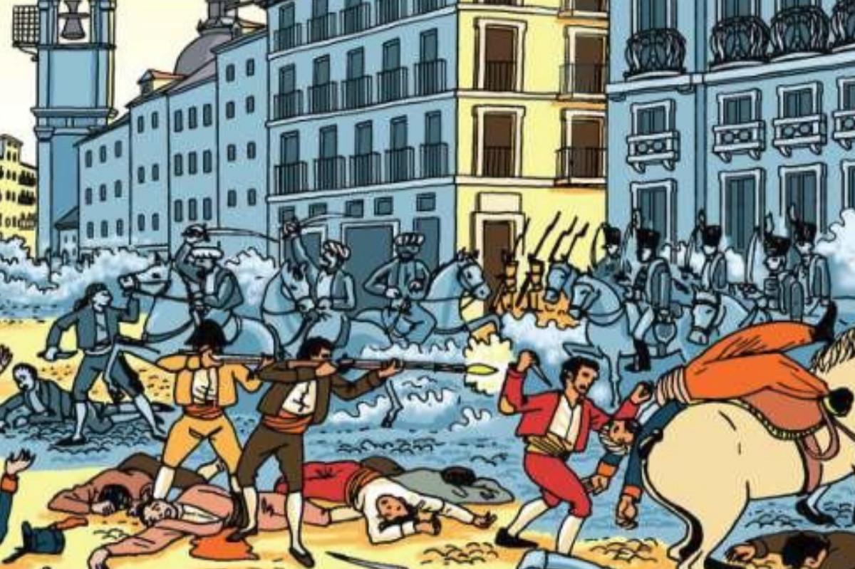 Portada del libro 'Madrid, 2 de mayo de 1808'