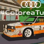 Colorea tu coche deportivo