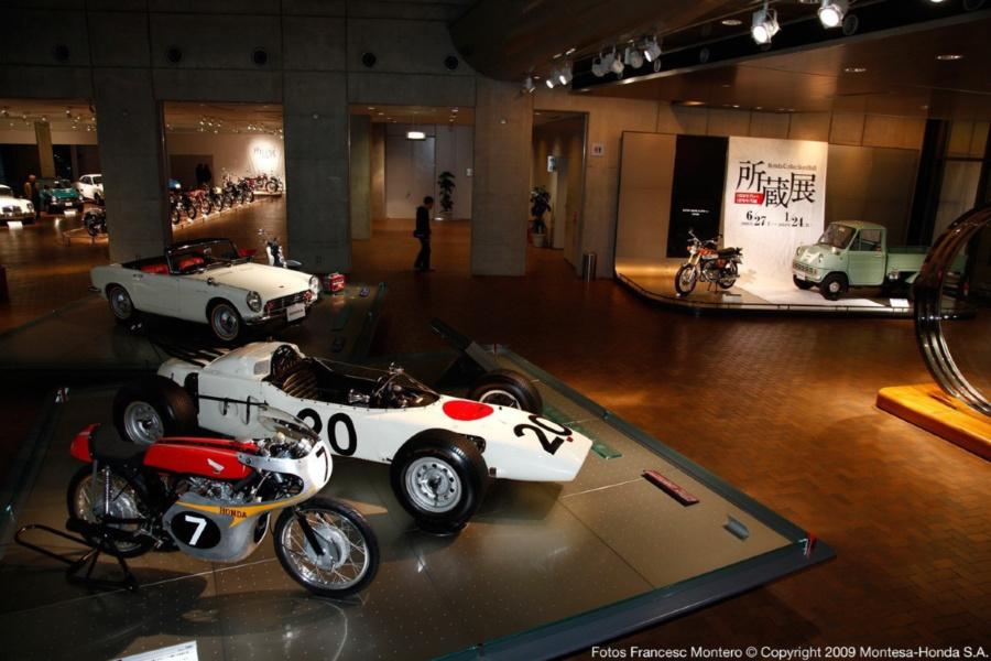Honda abre su museo en Tokyo para visitarlo gratis, virtualmente, durante el confinamiento.