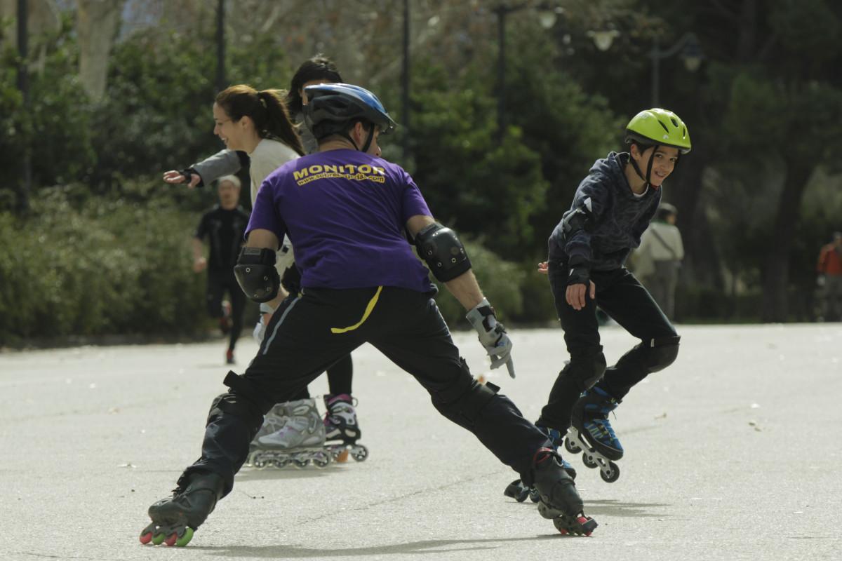 Probamos el patinaje como actividad extraescolar