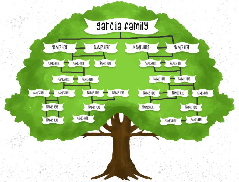 Te contamos cómo hacer el árbol genealógico de tu familia