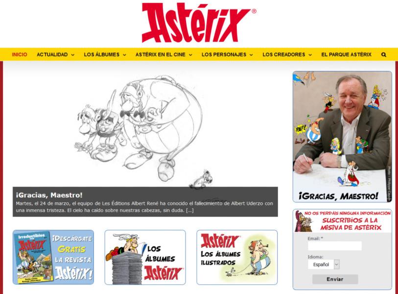 Descarga gratis la revista Astérix® con historietas y actividades
