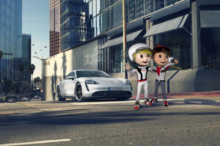 Porsche lanza una web con actividades gratuitas para peques