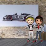 Juega gratis en casa con 'Porsche 4Kids'