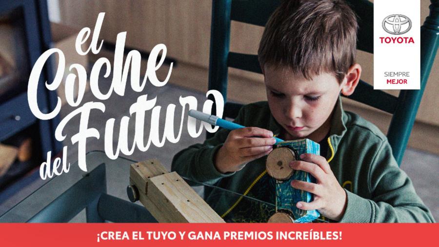 Toyota lanza un concurso infantil para que los peques diseñen un coche del futuro con materiales reciclados