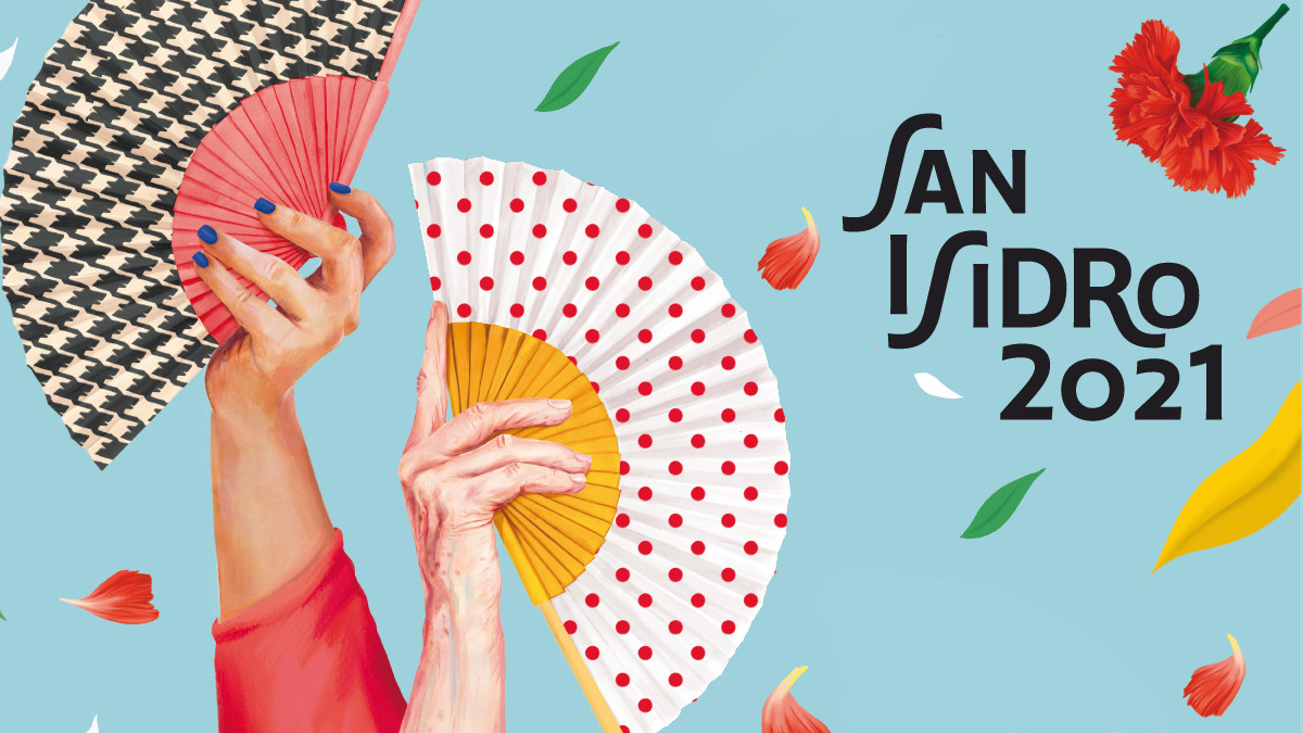 Detalle del cartel de San Isidro 2021