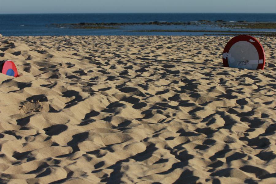 Las playas de Trafalgar no son aptas para el baño, pero sí para disfrutar de la puesta de sol