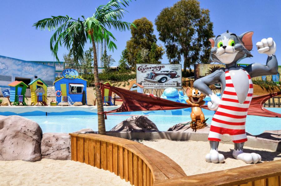 'Playa' del parque acuático Warner Beach