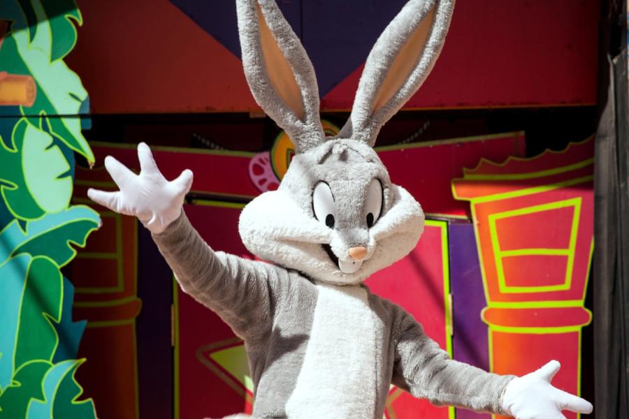 Bugs Bunny vuelve a la zona infantil del Parque Warner
