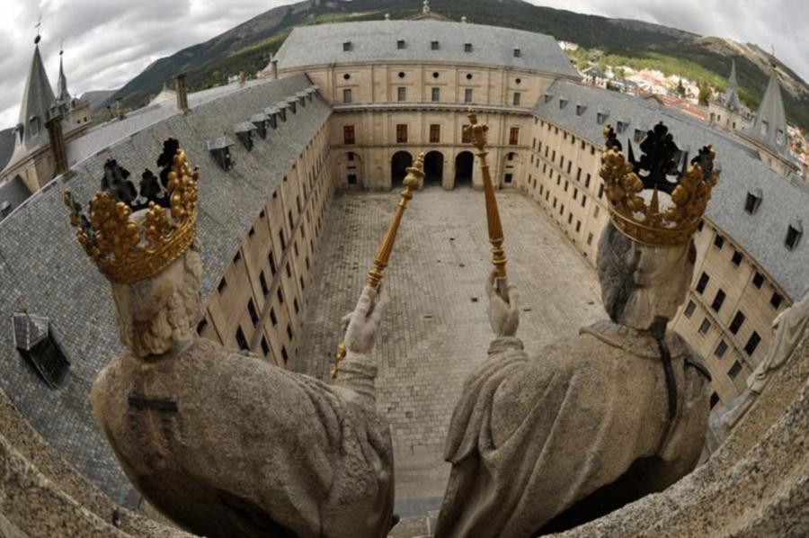 Patio de Reyes de El Escorial
