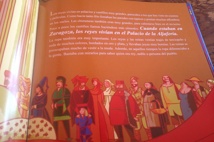 Libro infantil sobre el antiguo Reino de Aragón